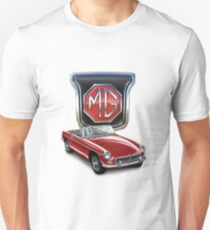 MGB in Red Unisex T-Shirt