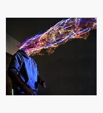 Exploding mind Photographic Print