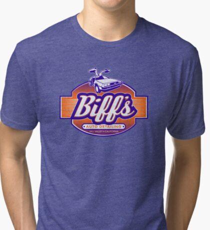 Biff's Auto Detailing Tri-blend T-Shirt