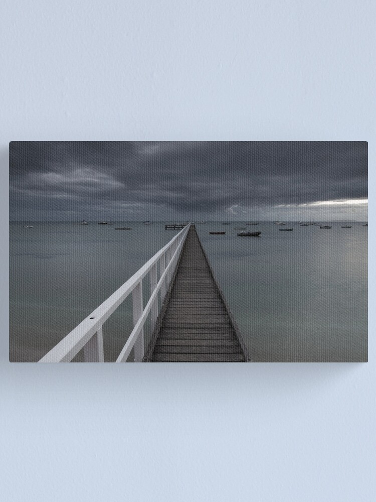 Alternate view of the baths Canvas Print