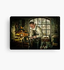 The Leatherworker Canvas Print