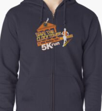 Save The Clock Tower Zipped Hoodie