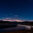 Lake Grandby at Night by JRRouse