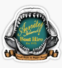 Amity Island Boat Hire Sticker