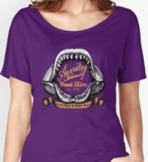 Amity Island Boat Hire Women's Relaxed Fit T-Shirt
