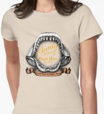 Amity Island Boat Hire Women's Fitted T-Shirt