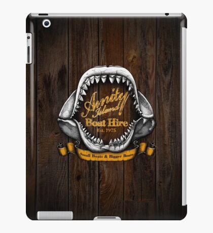 Amity Island Boat Hire iPad Case/Skin