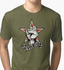 Up The Revolution! Tri-blend T-Shirt