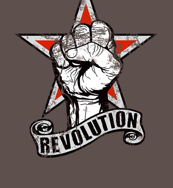Up The Revolution! by rubyred