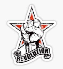 Up The Revolution! Sticker