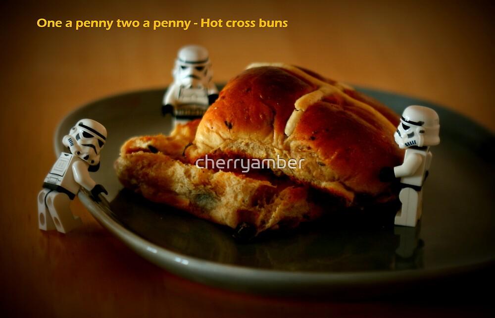 Hot cross buns by cherryamber