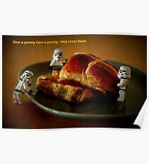 Hot cross buns Poster
