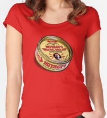 Super Wax Women's Fitted Scoop T-Shirt