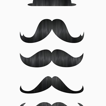 Mustaches by chriscraig