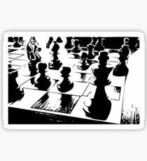 Chess gamer Sticker