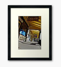 Small Town Glory Framed Print
