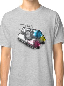 Graffiti Bombing Classic T-Shirt