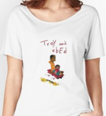 Troy and Abed ride together Women's Relaxed Fit T-Shirt