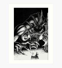 Rancor Art Print