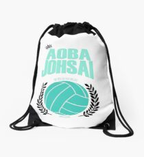 Haikyuu!! Aoba Johsai Design (large)  Drawstring Bag