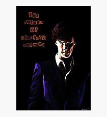 The return of Sherlock Holmes Photographic Print