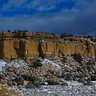 Snow Topped Desert by Shari Galiardi