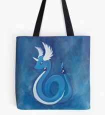 Pokemon Painting - Dragonair Tote Bag