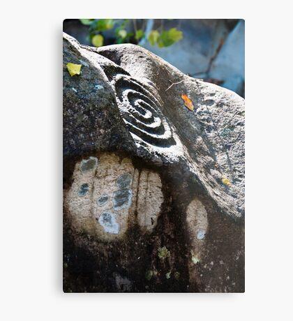 Altavista Petroglyphs Metal Print
