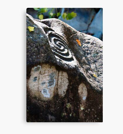 Altavista Petroglyphs Canvas Print