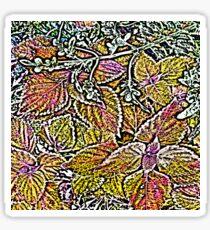 Leaves #7d Sticker