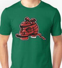 Red Ribbon Skull Unisex T-Shirt