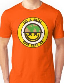 Put a smile on your dial Unisex T-Shirt