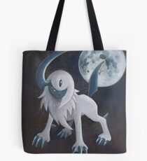 Pokemon Painting - Absol Tote Bag