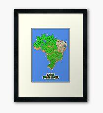 Super Mario Brazil (Print Version) Framed Print