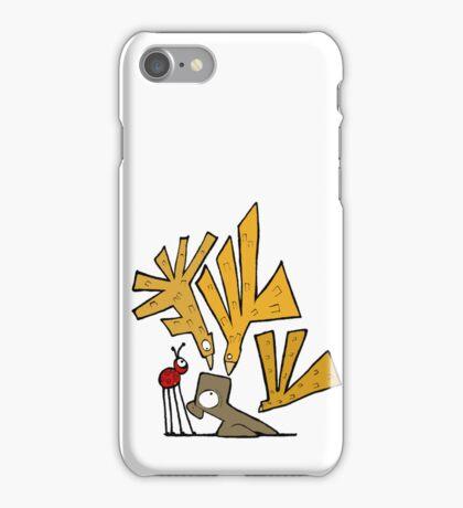 Bird Attack! iPhone Case/Skin