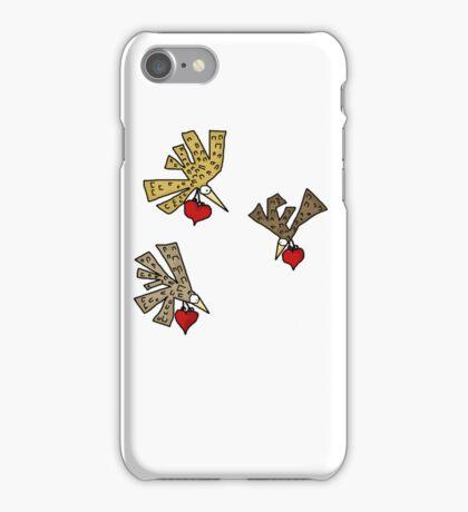 Heart Birds iPhone Case/Skin