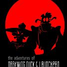 The Adventures of Darkwing Duck & Launchpad by DJ O'Hea