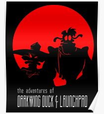 The Adventures of Darkwing Duck & Launchpad Poster