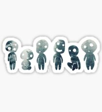 Princess Mononoke- Tree Spirits Sticker