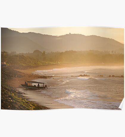 A beautiful morning to go fishing Poster