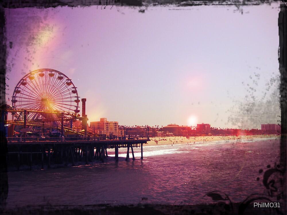 Santa Monica Pier by PhilM031