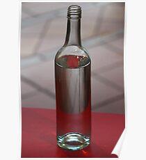 Red Bottle Poster