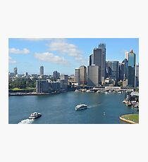 Sydney Harbour From The Bridge Photographic Print