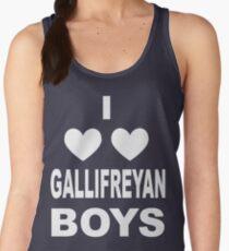 I Love Love Gallifreyan Boys Women's Tank Top