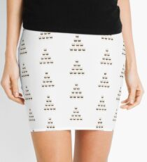 Castle coffee Mini Skirt