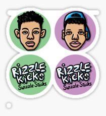 Rizzle Kicks Sticks Sticker