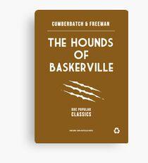 BBC Sherlock - The Hounds of Baskerville Minimalist Canvas Print