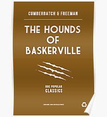 BBC Sherlock - The Hounds of Baskerville Minimalist Poster