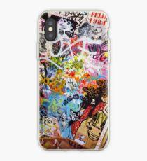 Urban Graffiti Mess iPhone Case