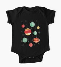 Joy to the Universe Short Sleeve Baby One-Piece